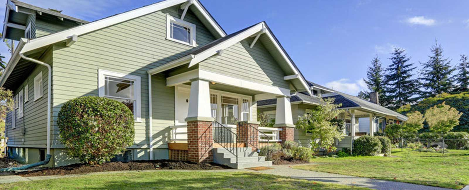 Residential Exterior Painting - Craftsman Style
