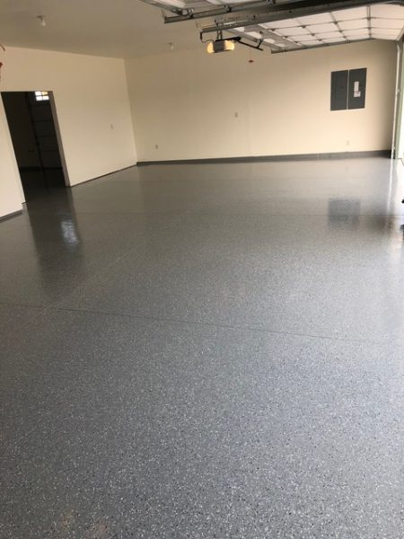 Epoxy Flooring in Garage