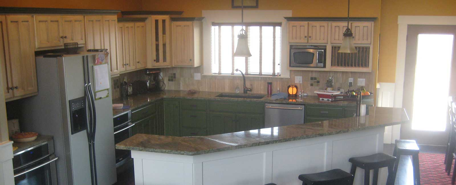 Interior Painting and Custom Cabinetry
