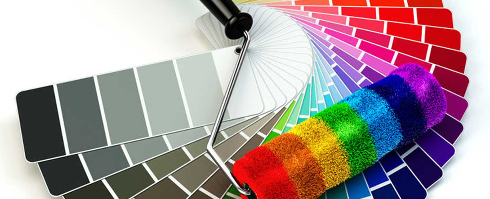 Colorful Paint Roller