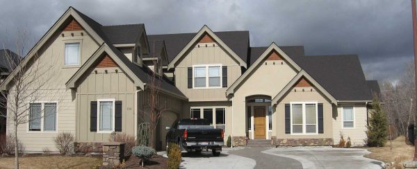Residential Exterior 3 Color Craftsman Paint Job