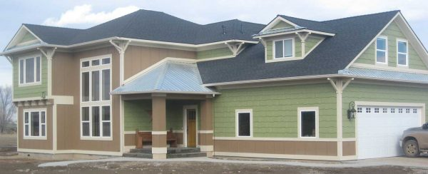 Residential Exterior Painting - New Construction