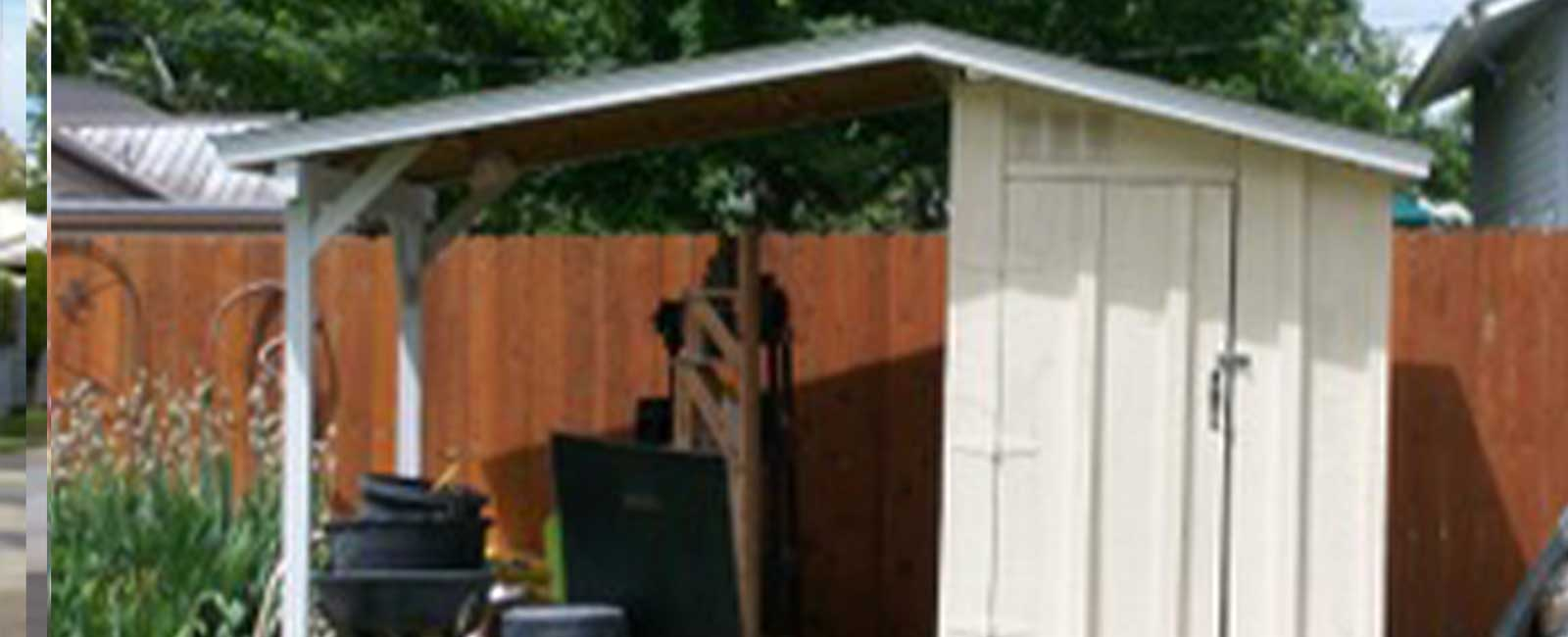 Backyard Shed - Painted