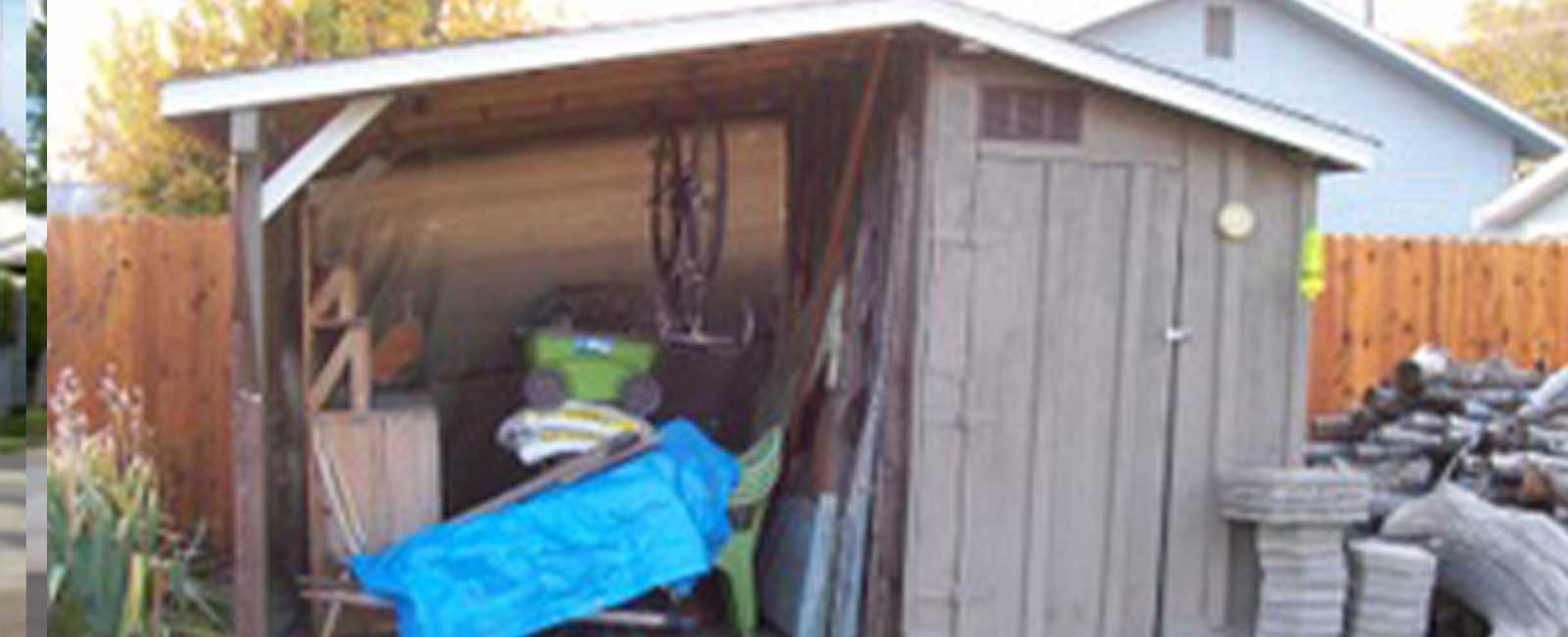 Backyard Shed - Unpainted